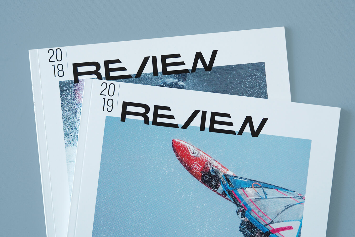 Sammersurf review, editorial design, Magazin, Rückblick,
